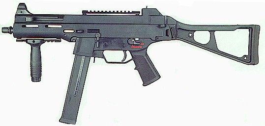 Ump 45 sub machine gun. This is one I would not mind having someday. Even if I have to get it in the semi-auto.