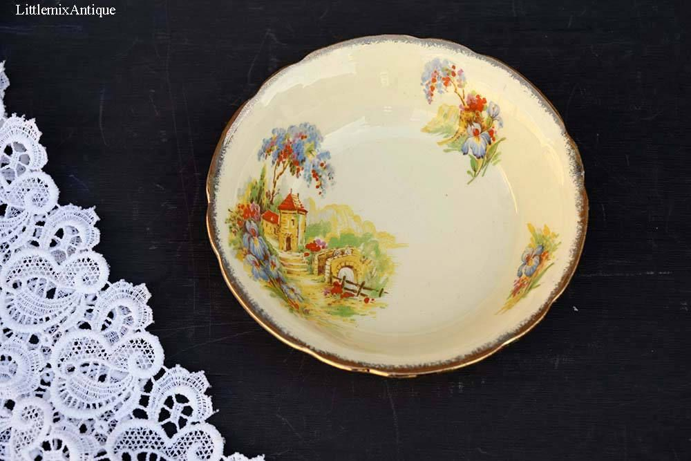 Alfred Meakin Hearty Pair Of Vintage Alfred Meakin Open Tureens  Serving Dishes Country Life Pattern
