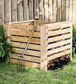Comment Fabriquer Un Composteur Avec Mon Magasin Général Green - Comment fabriquer un composteur exterieur