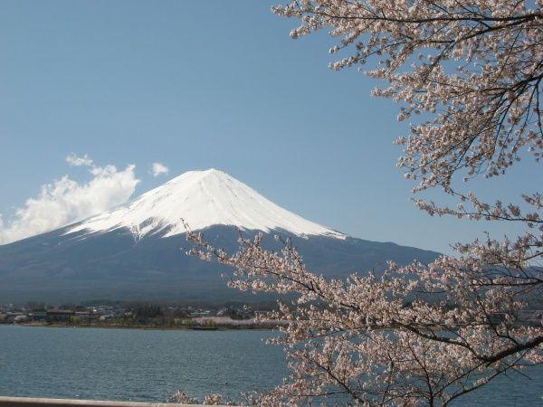 Mt Fuji from Lake Kawaguchi, 14 September 2011