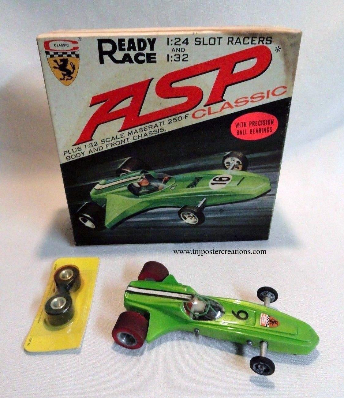 Classic ASP 1/24 scale slot car with original box    slot