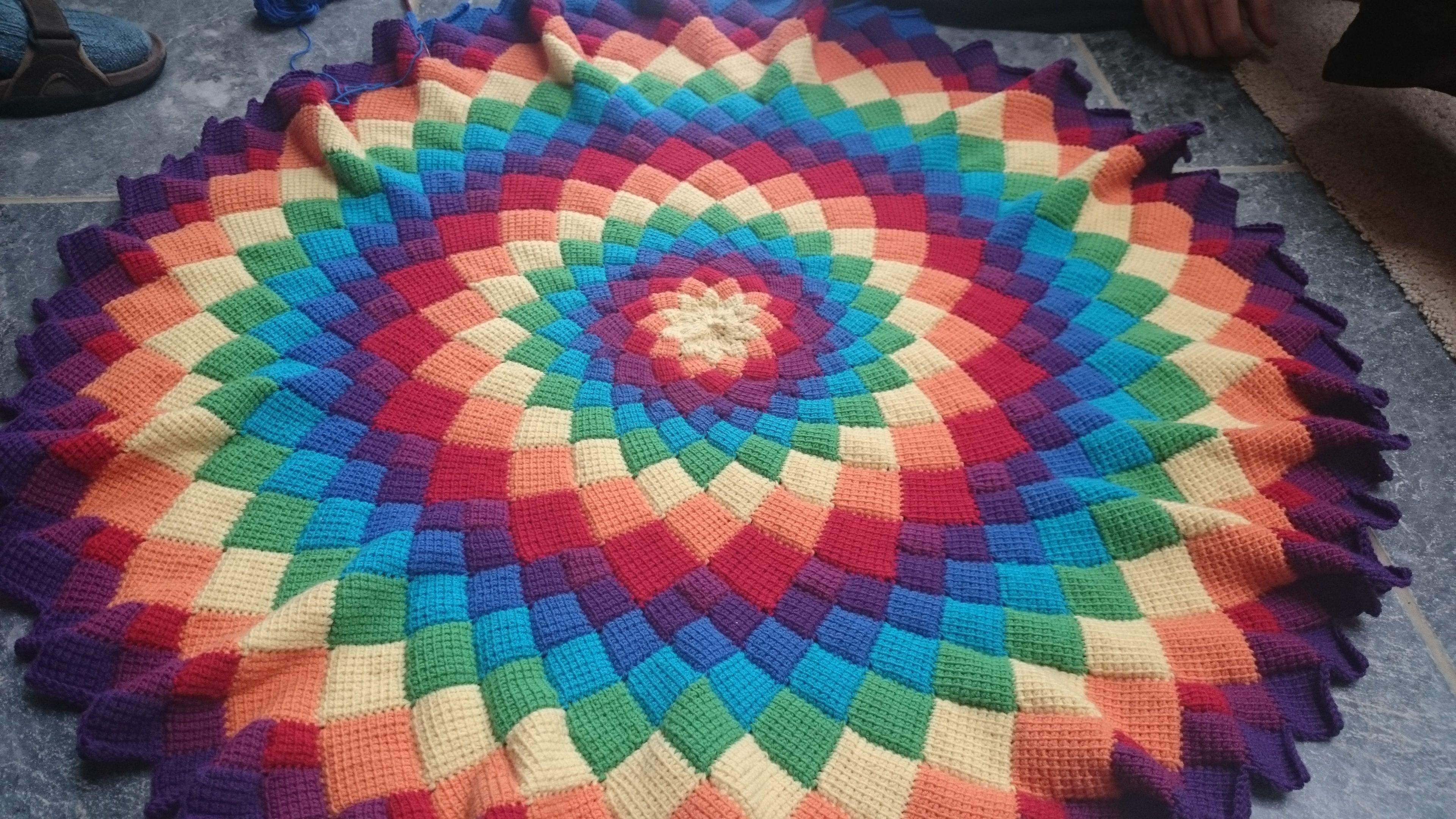 Deze Mandala Wordt Voor Het Overgrote Deel Gemaakt Met De Tunische