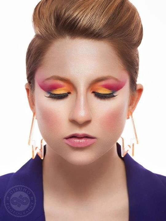 My 80 S Inspired Makeup Look Retro Makeup Makeup Inspiration