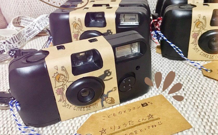 お子さまカメラマンへ渡したい インスタントカメラのテンプレートを無料配布している神サイト発見 インスタントカメラ 結婚式 無料 結婚式 演出 オシャレ
