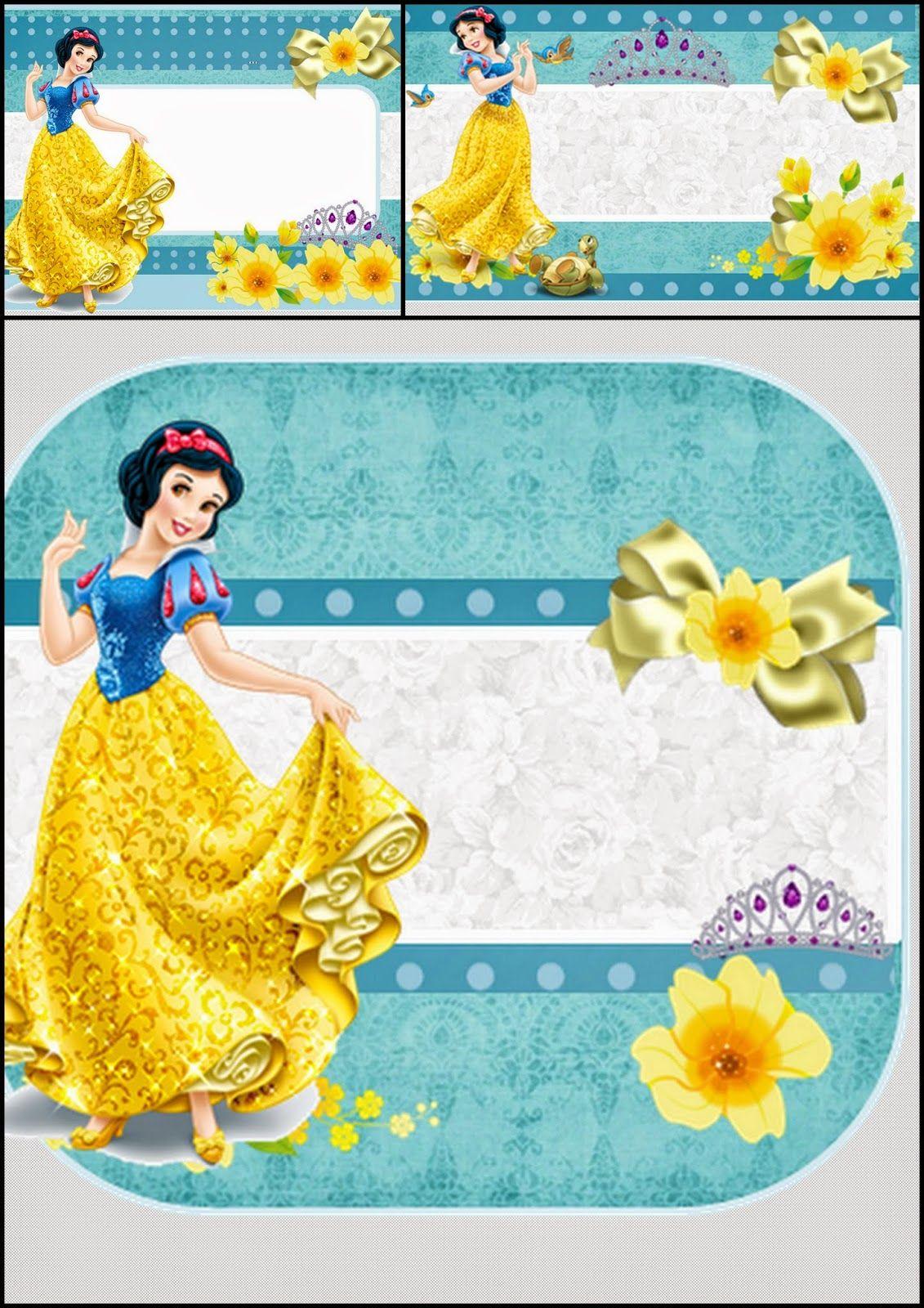 Blancanieves Invitaciones Para Imprimir Gratis