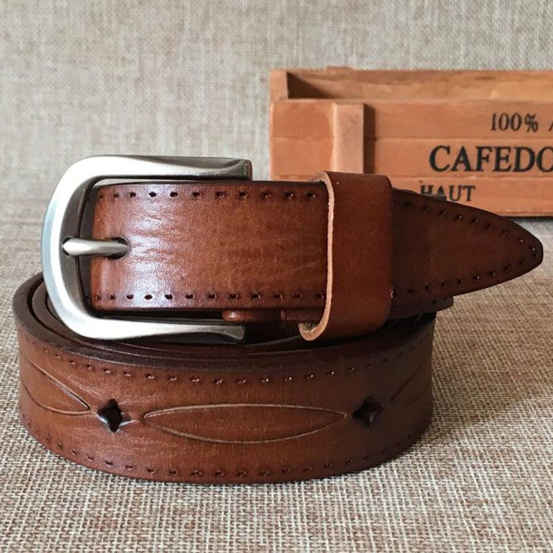>> Click to Buy << Women's first layer of leather casual wild belt #Affiliate