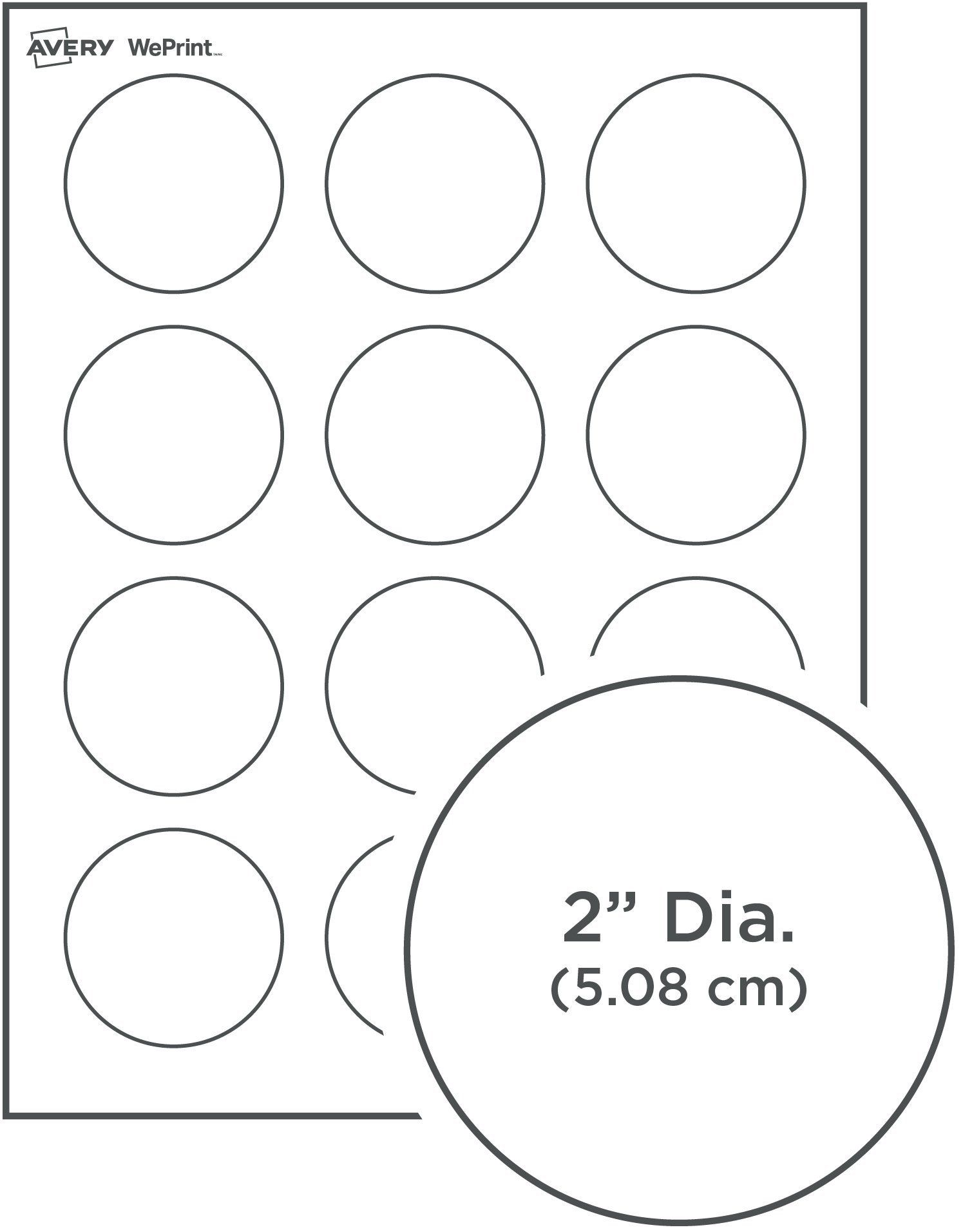 30 2 Inch Round Label Template Simple Template Design Circle Labels Avery Round Labels Printable Label Templates