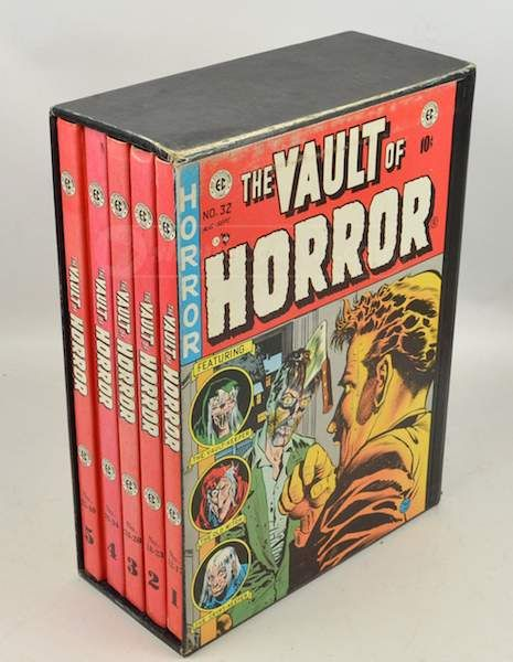 Just in time for Halloween! Vault Of Horror Comic Book Boxed Set