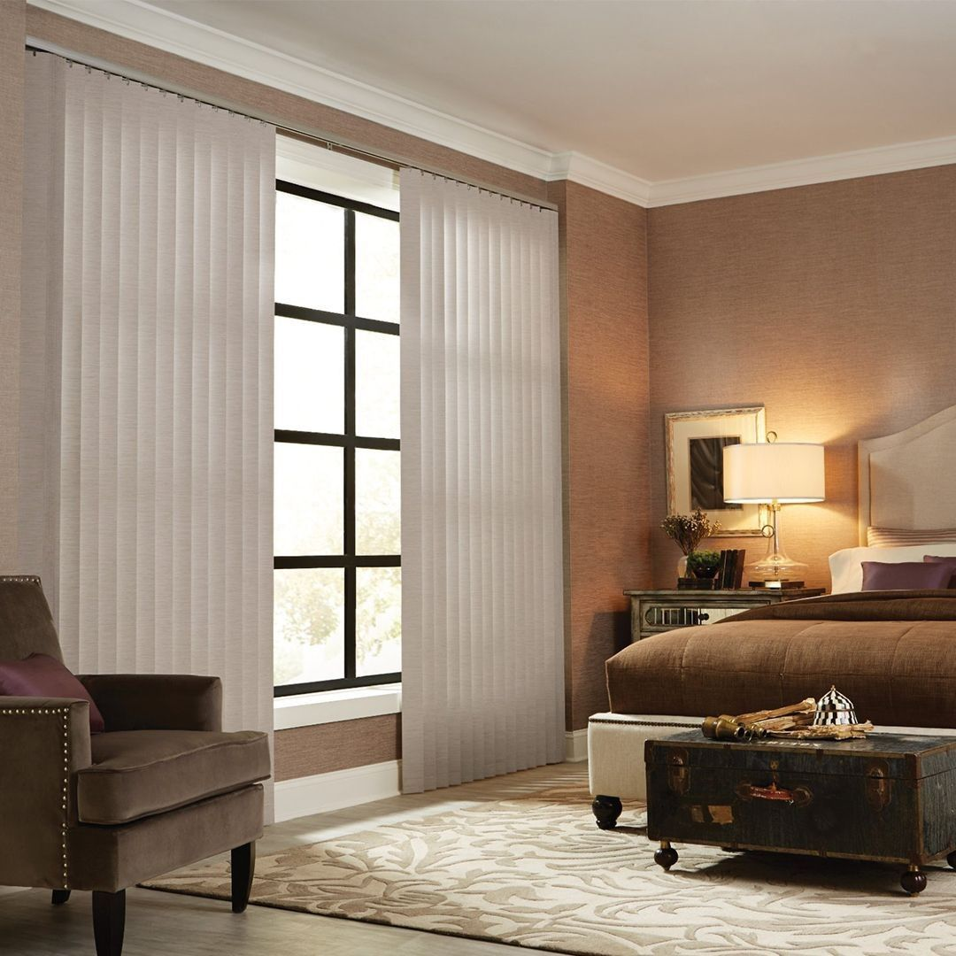 Vertical blinds provide the ideal solution for covering