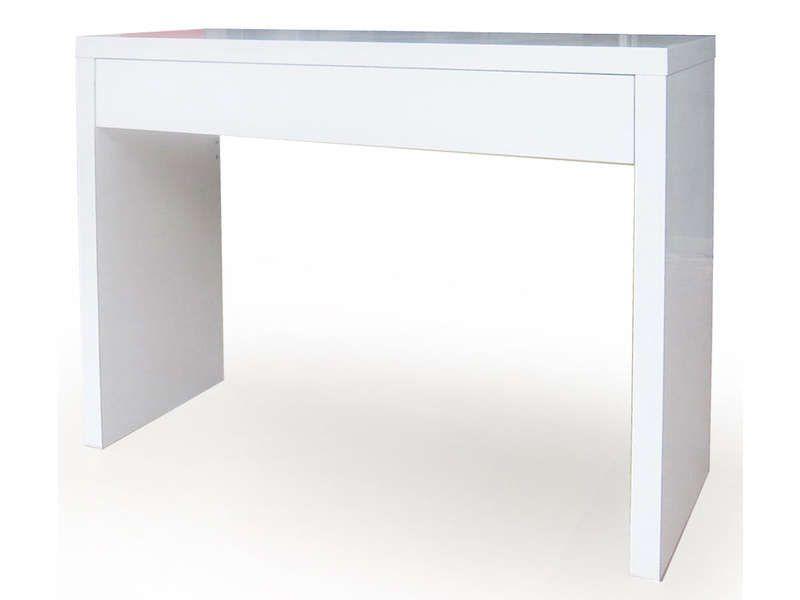 Console EPURE laqué blanc - Vente de Console - Conforama Studio - Conforama Tables De Cuisine