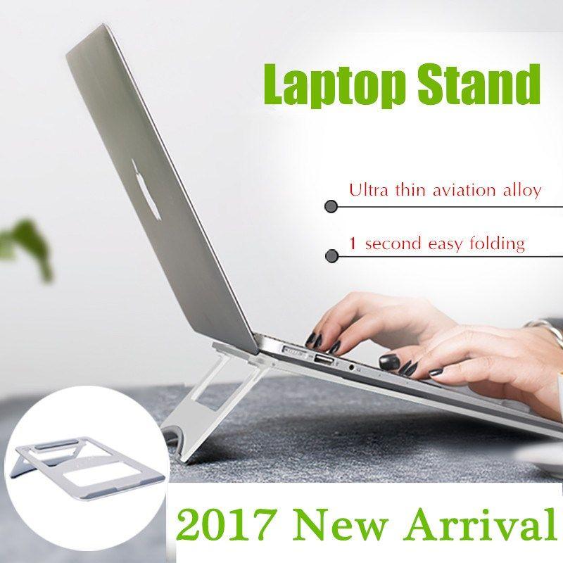 Folding Fanless Laptop Cooling Pad For Laptop Macbook Pro Air