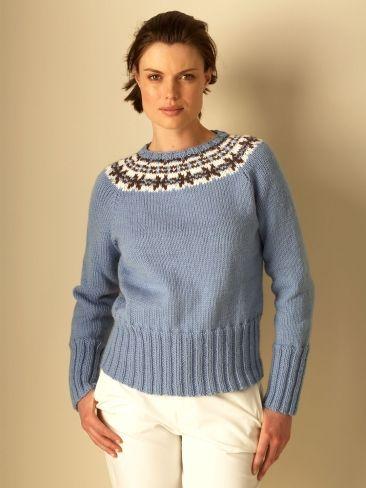 Natural Elements Fair Isle Yarn Free Knitting Patterns Crochet