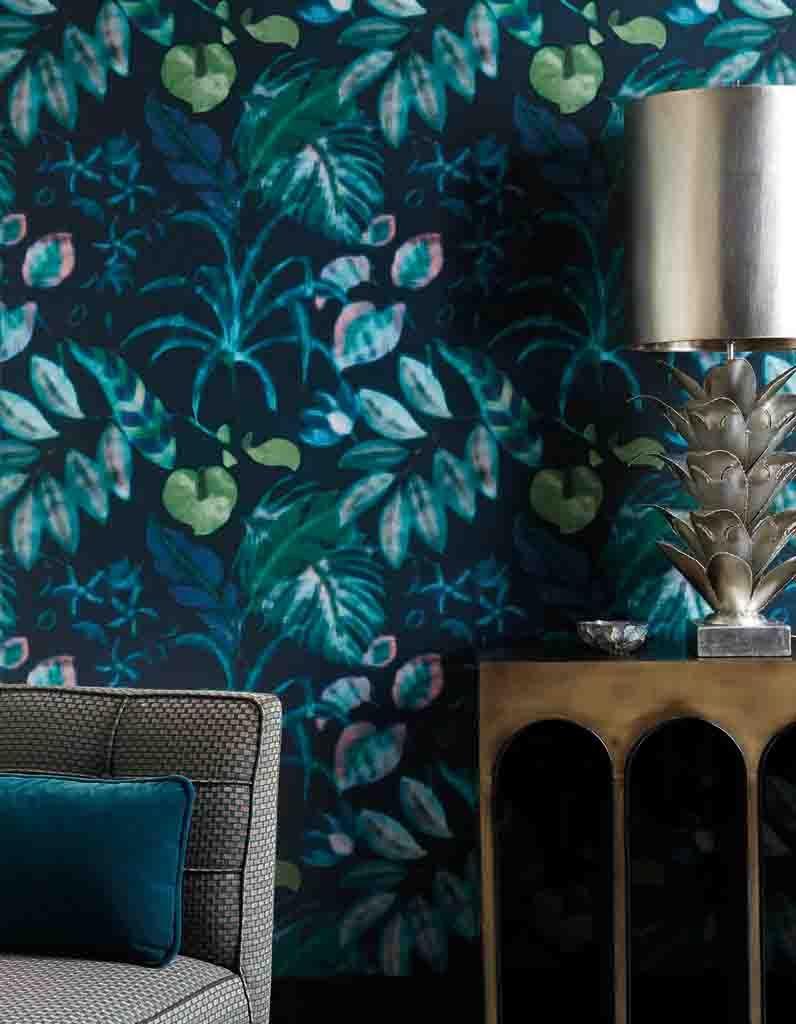 Papier Peint Deco Marine la décoration bleu marine nous inspire, et vous ? - elle