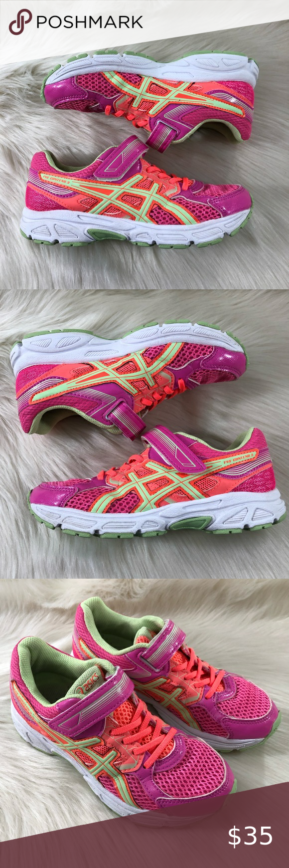 Asics Pre Contend 3 Girls Sneakers in