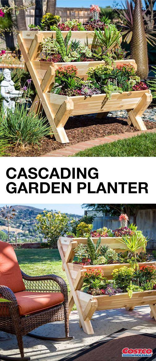 Not Only Can This Cedarcraft Cascading Garden Planter Help 640 x 480