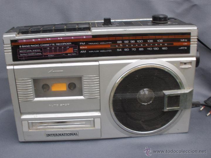 Radiocassette magnetofón International