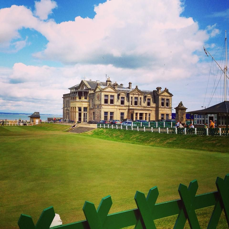 At The Royal and Ancient Golf Club of St Andrews.