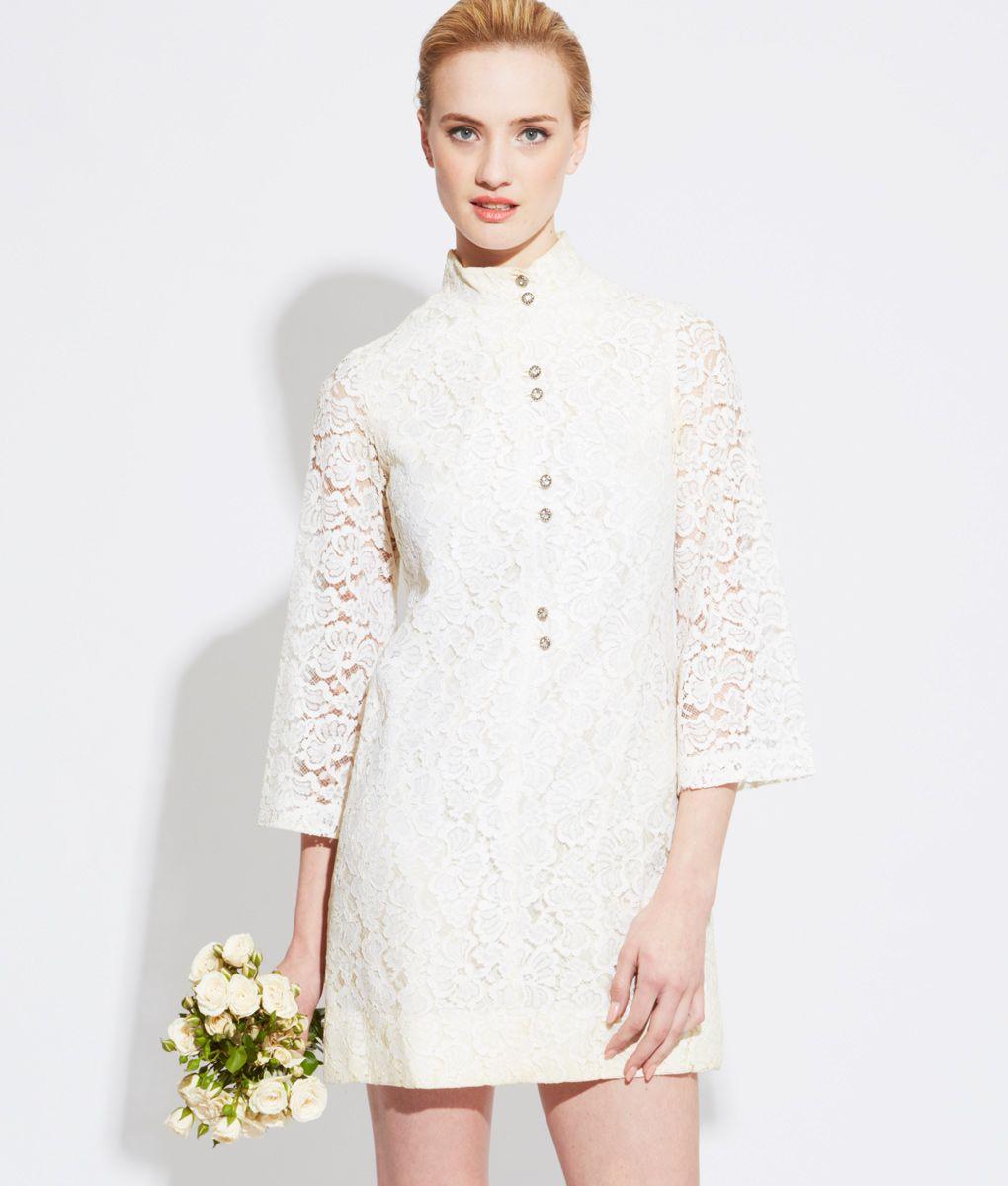 Vintage lace wedding dress josie stardust vintage pinterest