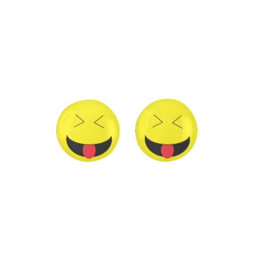 Emoji Stud Earrings