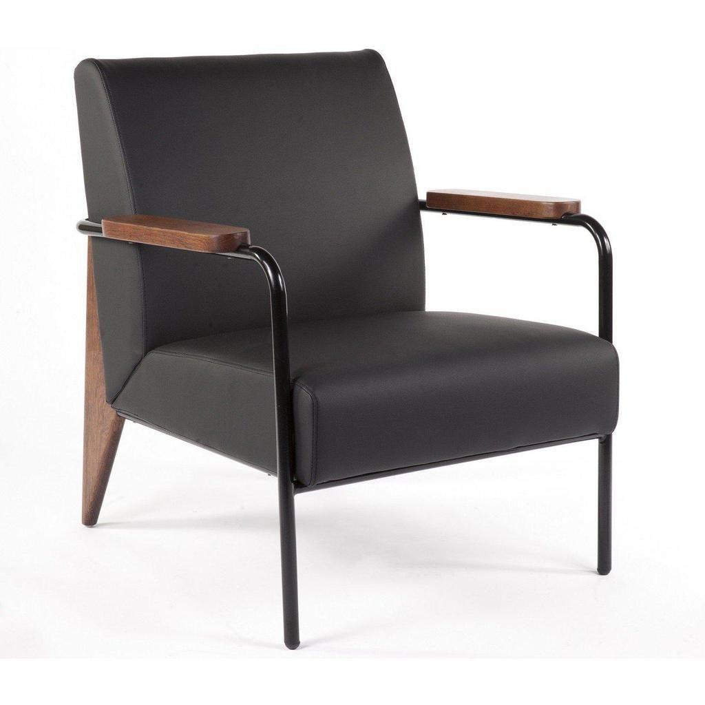 Best Fauteuil De Salon Black Mid Century Modern Lounge 400 x 300
