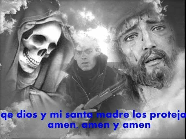 Santa Muerte y Dios