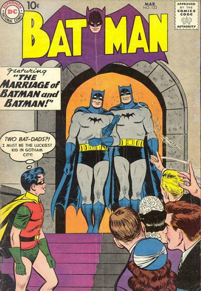 The gay marriage   Batman   Pinterest   Cómics