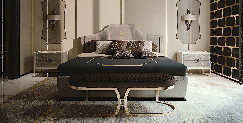 Wohnheim Zimmer · Carpanese Bedroom Glamour
