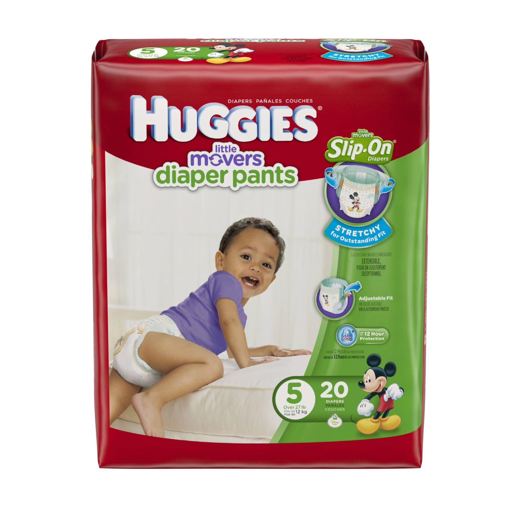 Huggies Little Movers Diaper Pants