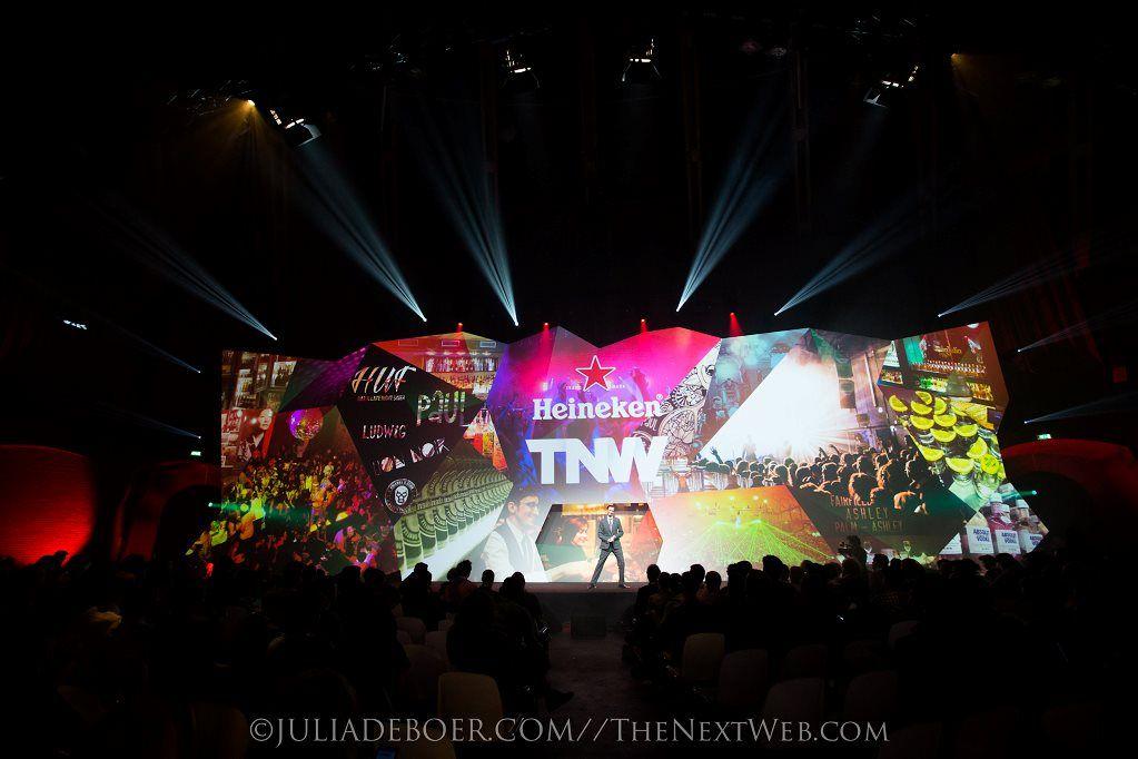 TNW Conference MainStage Heineken Party (Stage Design