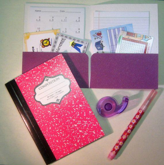 Mini School Supply Accessories American Girl Doll 18 Play School – Play School Worksheets