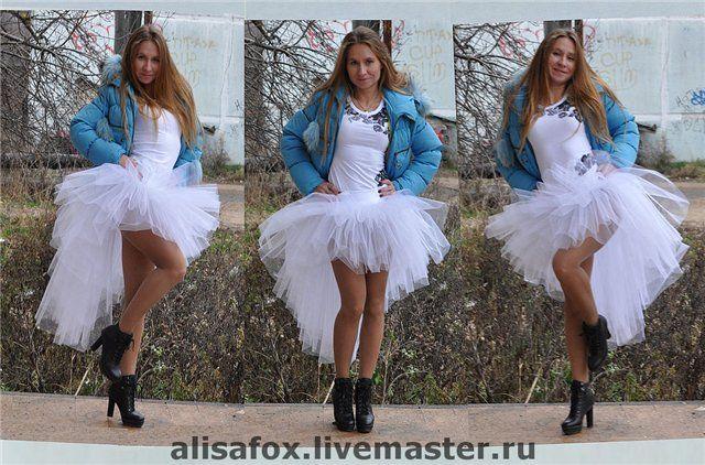956c5b54b47 Юбка-пачка из фатина Невеста ( со шлейфом) - пачка,шлейф,юбка-пачка,юбка со  шлейфом