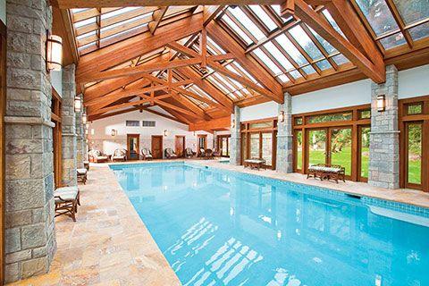 Enclosed Luxury Glass Pool Enclosures Indoor Outdoor Pool Pool Houses Indoor Swimming Pool Design