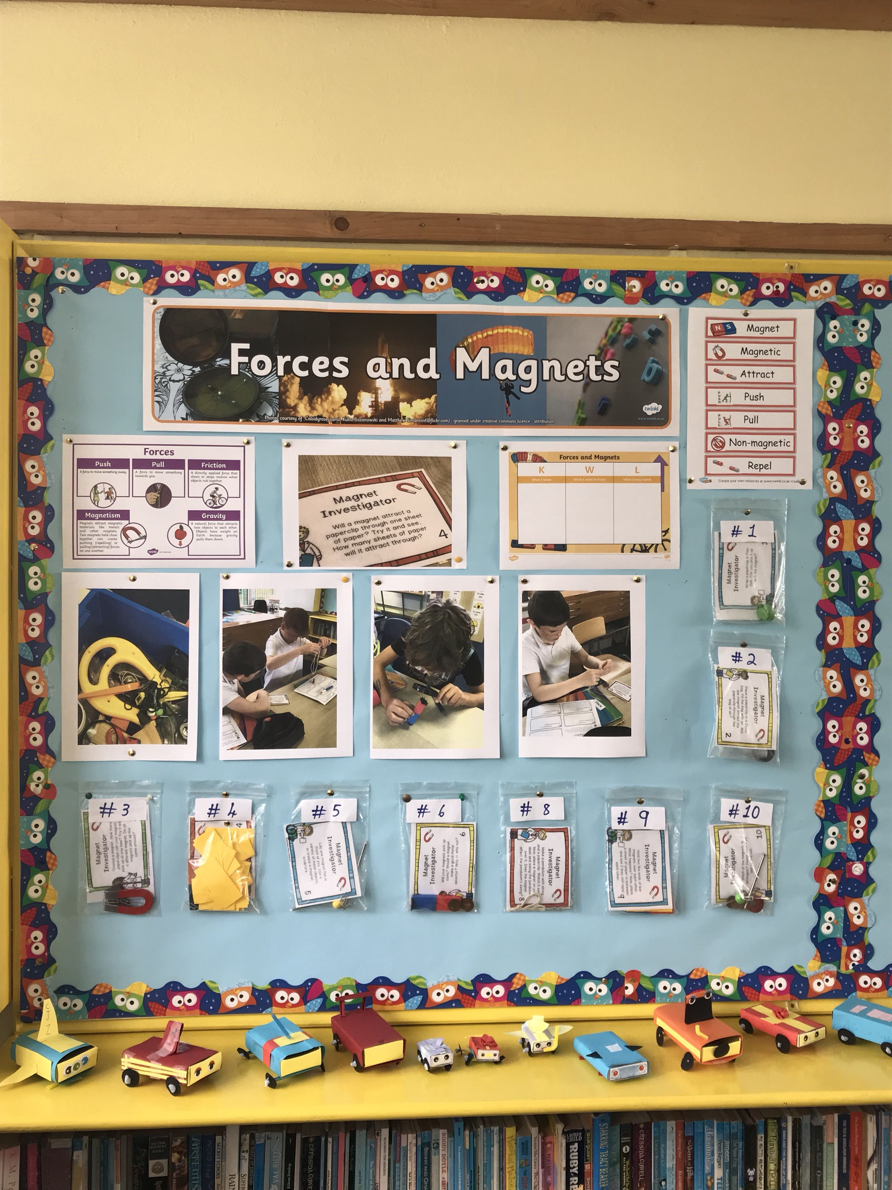 Magnets Display Ks2