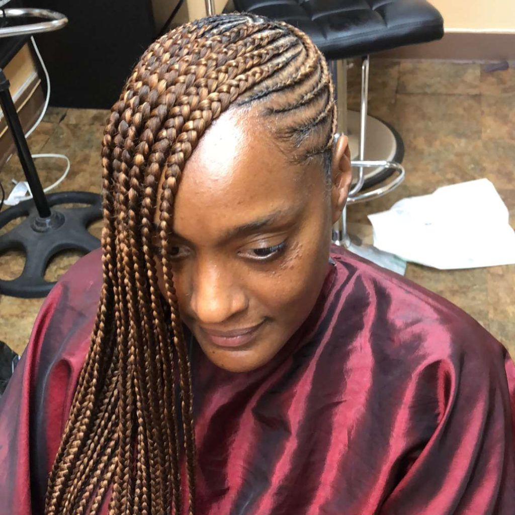 Back To School Pretty Braided Hairstyles With Weave