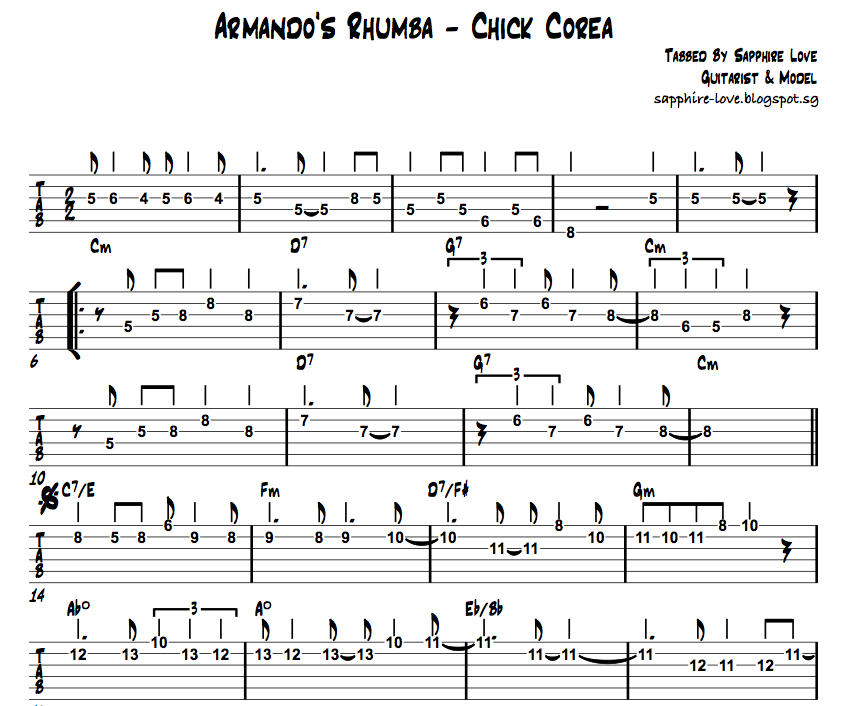 unchained melody guitar tab pdf