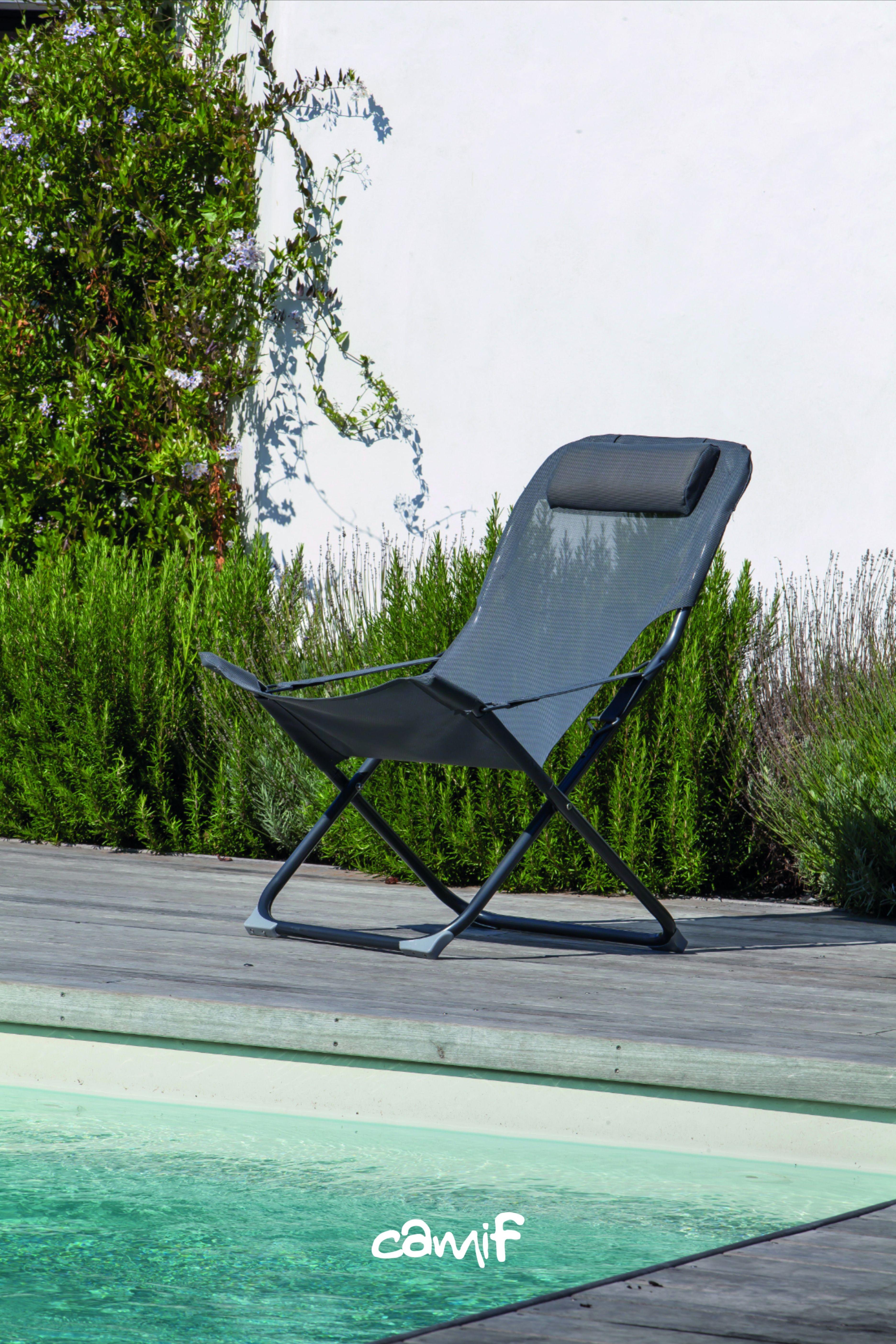 Camif Relax Exterieur En 2020 Fauteuil Relax Relax Mobilier Jardin