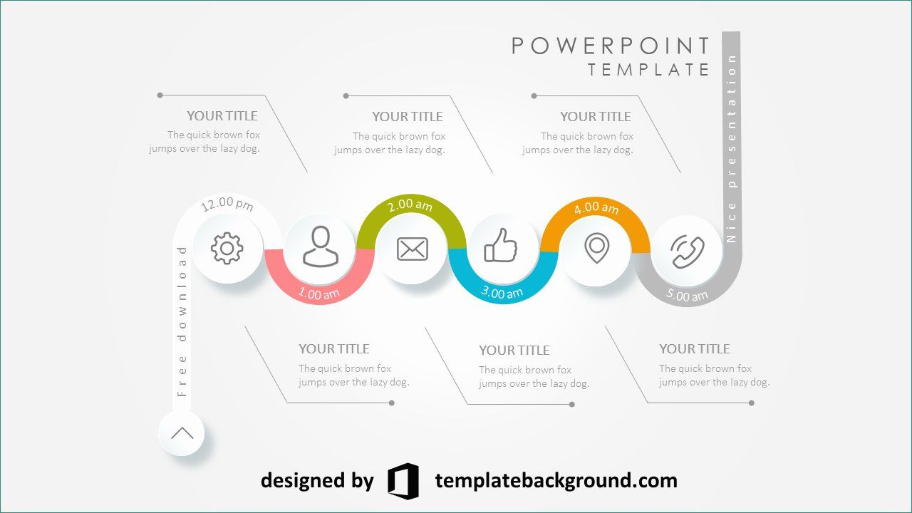free 3d presentation templates present short animated 3d