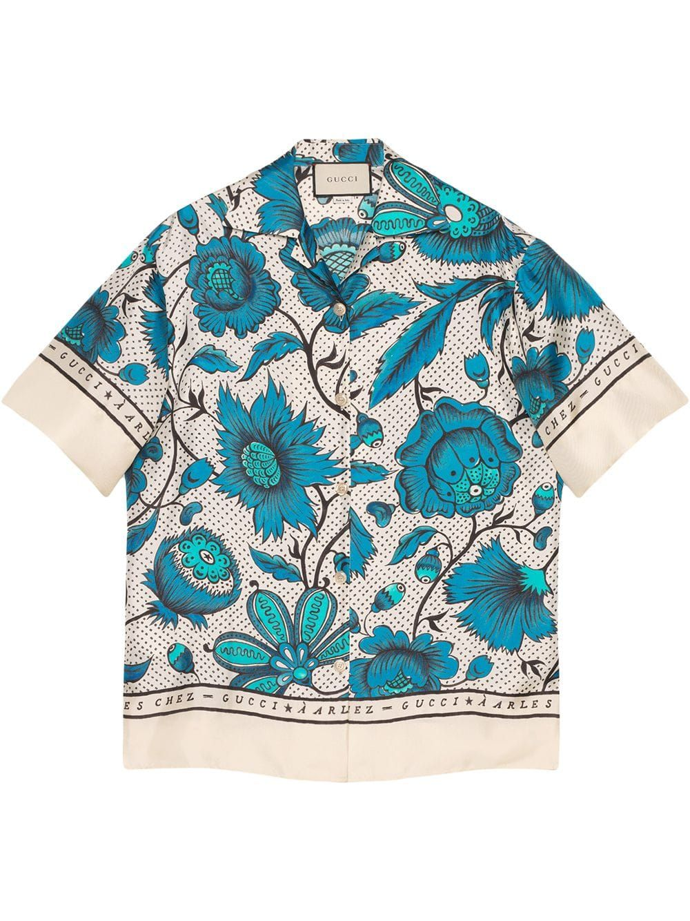 Bowling Shirt With Watercolor Flowers Bowling Shirts Pattern