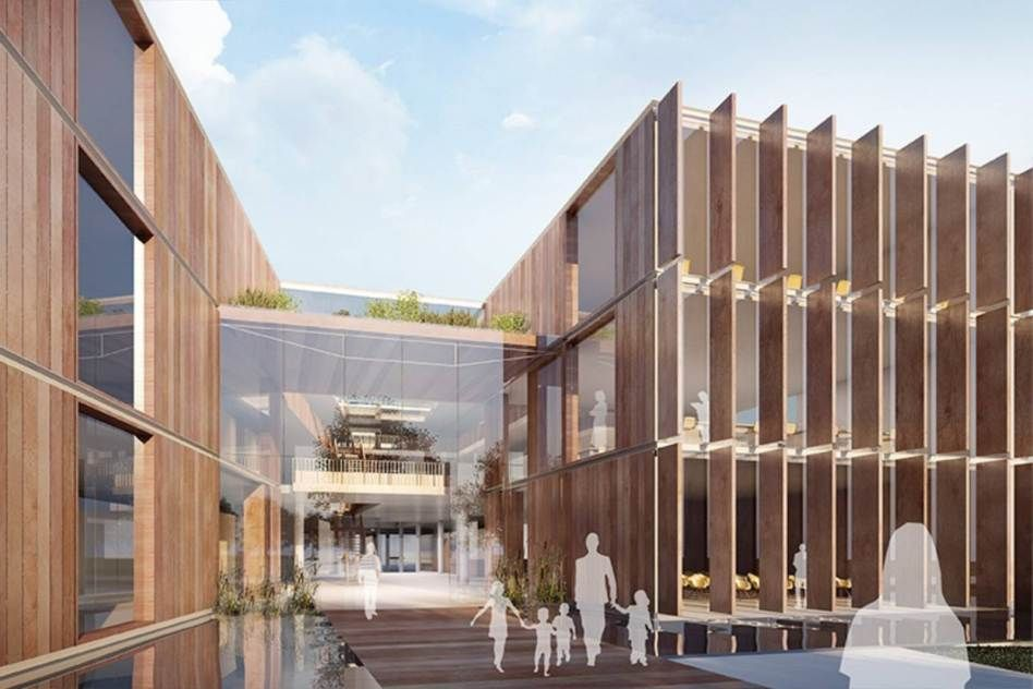 new Research and Education Building of Alder Hey Hospital