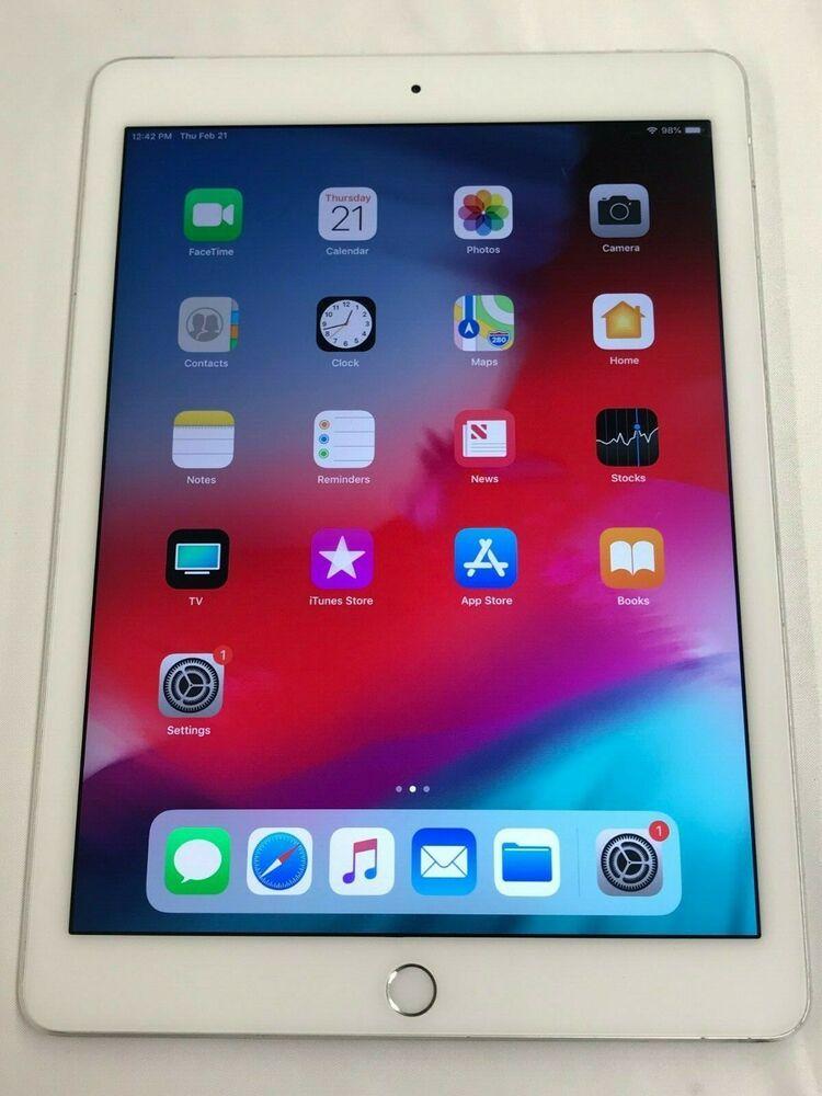 Apple Ipad Air 2 6th Model Wifi Or Lte 16 32 64 128gb Space Gray Silver Ipad Air Ipad Ipad Air 2