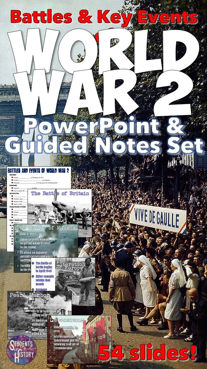 world war 2 battles and events powerpoint lesson world history