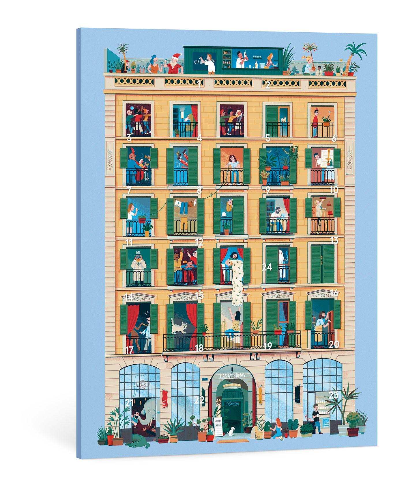 Hotel Calendar Design : Casa bonay on behance calendar design pinterest