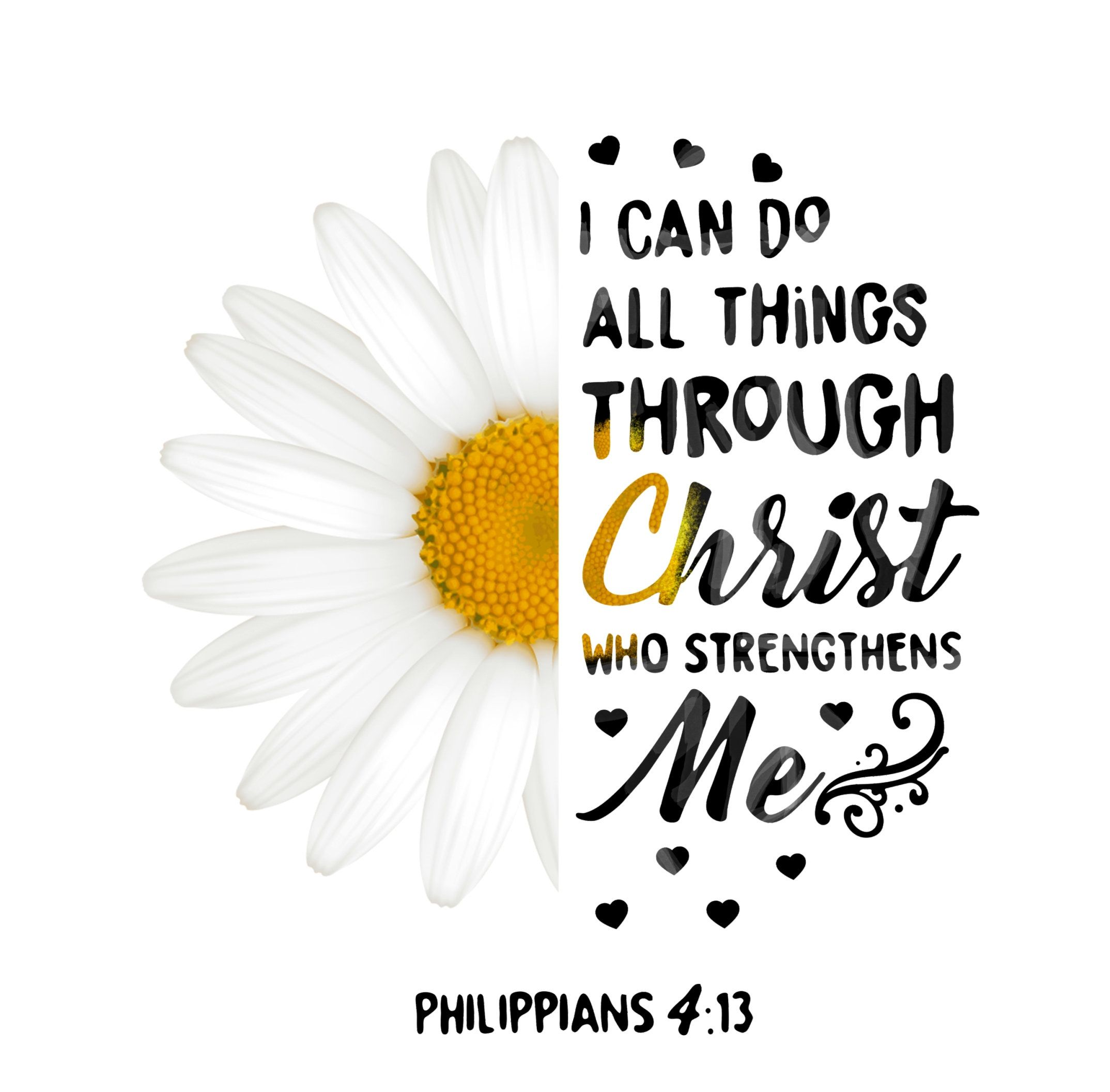I can do all things through Christ who strenghthens me ...