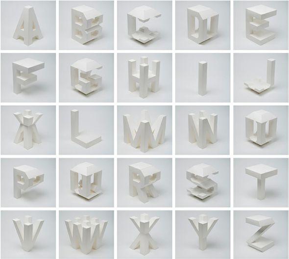 Tipografía en 4D
