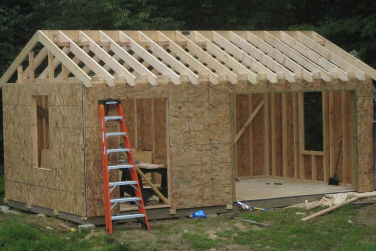 How much does it cost to build your own she shed man