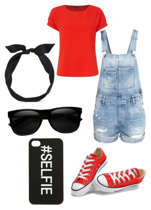 Comment To see if I start my own clothes line by dewittcheer on Polyvore featuring polyvore, moda, style, Y.A.S, H&M, Converse and yunotme