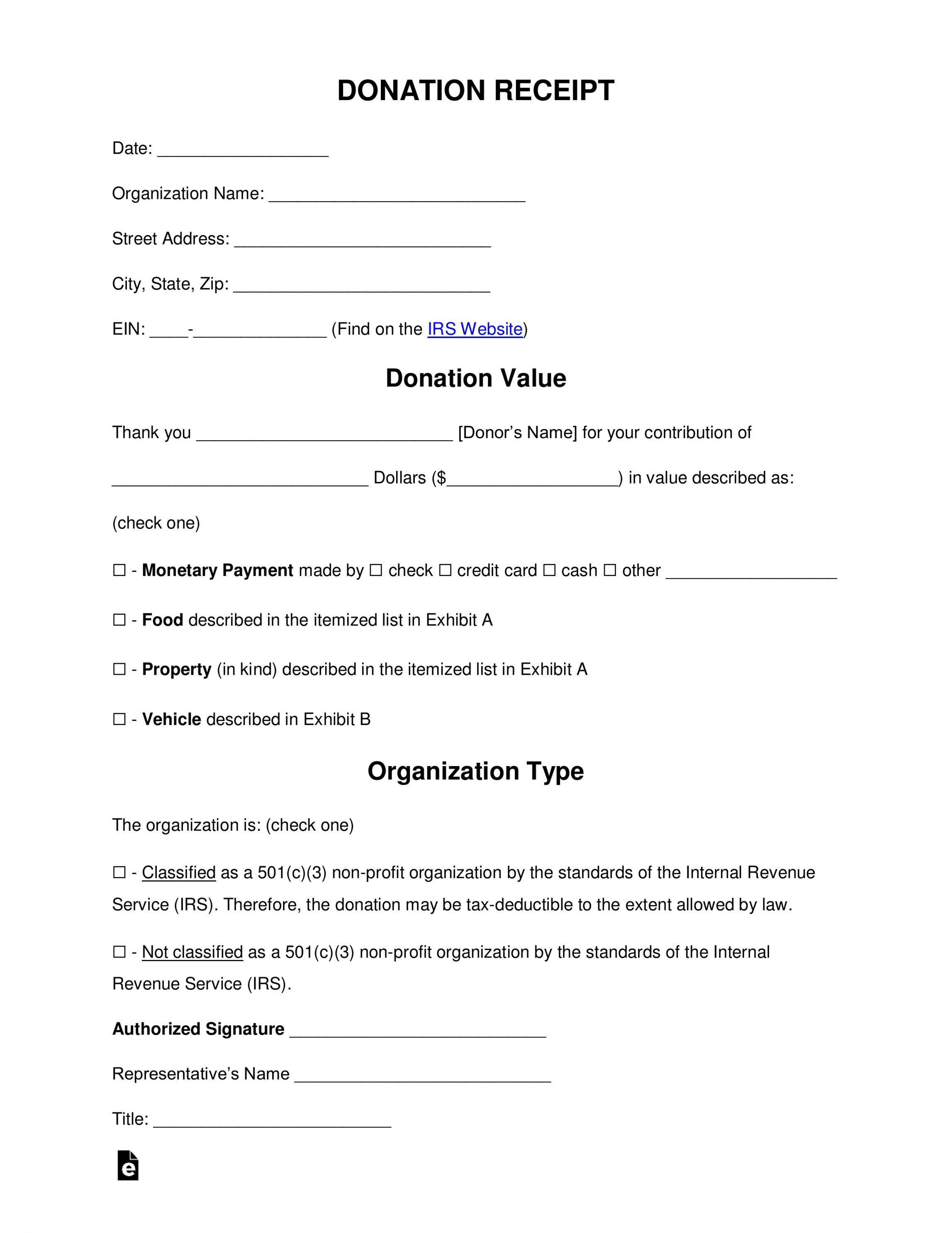 Explore Our Free School Donation Receipt Template Receipt Template Donation Form School Donations