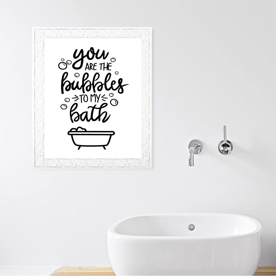 Hang Your Towl Comb Your Hair Funny Toilet Quotes Canvas Painting Restroom Bathroom Decoration Poster And Print Modular Wall Art In 2020 Modular Wall Art Toilet Quotes Bathroom Wall Art