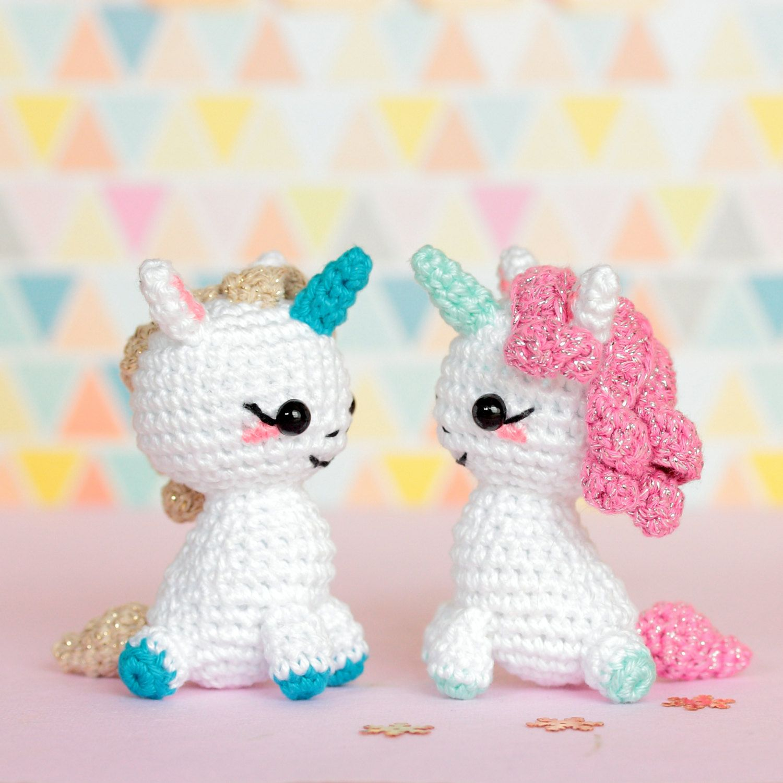 Populaire Amigurumi unicorn plush, Unicorn crochet, Unicorn amigurumi  XT15