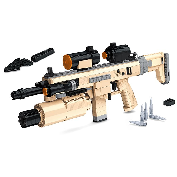 Brick CZ805 Assault Rifle (348pcs) //Price: $90.00 & FREE Shipping //     #lego guns